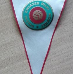 Pennant USSR Polish Football Union PZPN 390