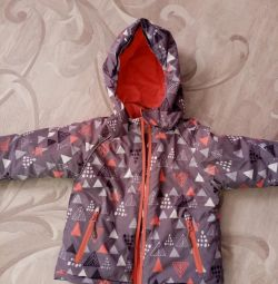 Jacket demi winter in good condition. R. 92-98