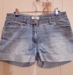 Шорти джинсові жіночі.