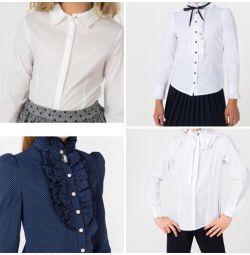 Kız çocuklar için bluzlar