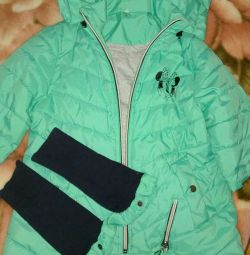 Demi jacket for a girl of 7.8 years old