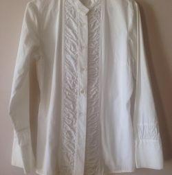 Λευκό βαμβακερό πουκάμισο, KappAhl