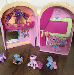 Будиночки для little pony (cinema), і для принцеси