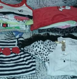 Many fashionable clothes from 2-5 years