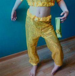 Στολή για ανατολίτικους χορούς για 4-6 χρόνια