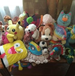 Sea of ​​toys