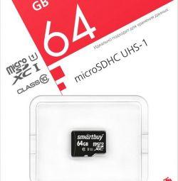 MicroSDHC SmartBuy 64Gb Class 10 without adap. (SDXC)