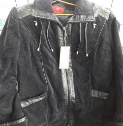 куртка микро вельветовая новая