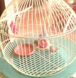 Cage for birds