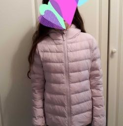 Jacket with a little warming (summer down jacket)