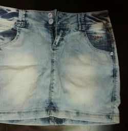Jeans fusta 28 size😍👌