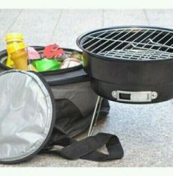 Переносной гриль с сумкой *карман холодильник
