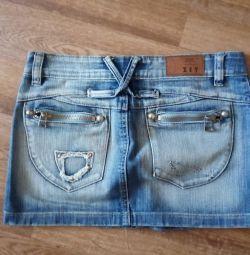Продам джинсову спідницю