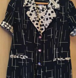 Комплект двійка -піджак і плаття футляр р. 48-50