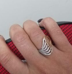 Gold ring. 50% off