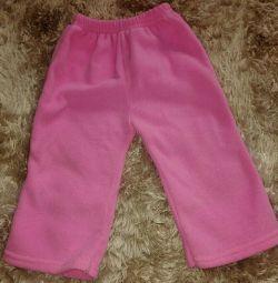 Bir kız için polar pantolon