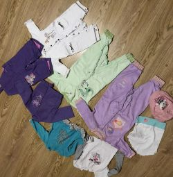 Things for a girl from 4 months