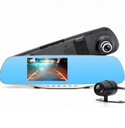 Відеореєстратор з камерою заднього виду HD