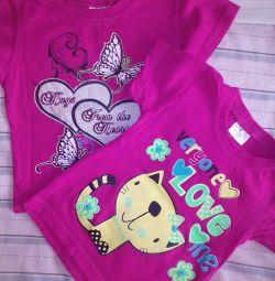 T-shirts × 2