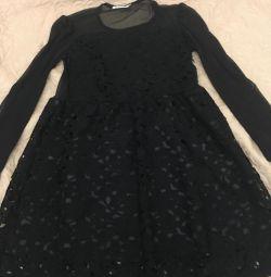 Φόρεμα, r. XS, μαύρο