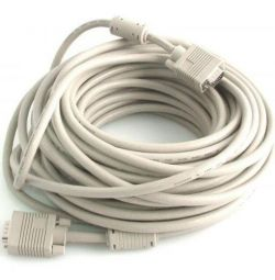 VGA Cable 10m Cablexpert Premium Triple Screen