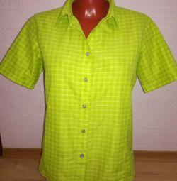 Βαμβακερό μπλουζάκι μέγεθος 44