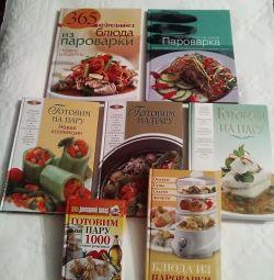 Steamer new recipe books
