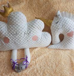 Διακοσμητικά μαξιλάρια στο νηπιαγωγείο
