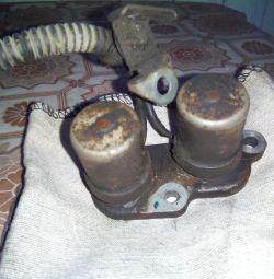 Ηλεκτρομαγνητική βαλβίδα στο αυτόματο κιβώτιο ταχυτήτων.