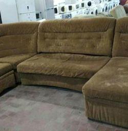 I will sell an angular sofa