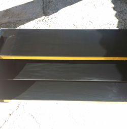 Стіл стол чорний