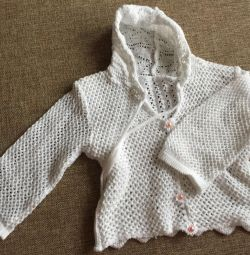 Çocuk örme bluz yaşı 9 ay - 1 yıl