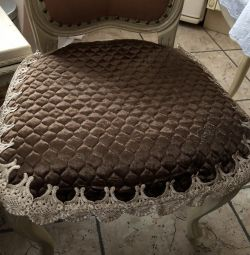 Роскошные сидушки на стулья Blumarine 🎁