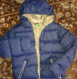 Зимова куртка BENETTON на хлопчика зростання 150.