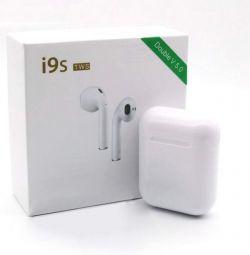 Căști wireless I9s-TWS Double 5.0