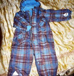 jumpsuit new winter. Barkito 2 pcs (92-104)
