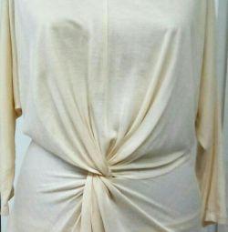Örme bluz marka Zara, etiketli yeni