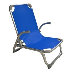 BEACH CHAIR HM5053.01 HEAVY TYPE BLUE ALO