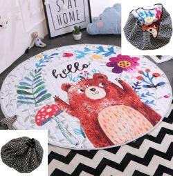 Детский игровой коврик-мешок Новый 150 см
