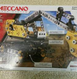 Excavator meccano de proiectare