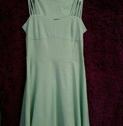 Τυρκουάζ φόρεμα νέο