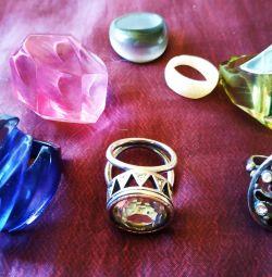 Кольца - бижутерия