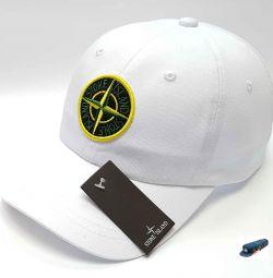 Baseball cap Stone Island cap (white)