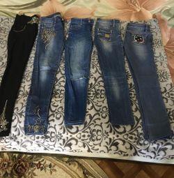 Jeans 25 mărime;