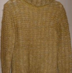 Mohair / lână pulover, R-44 (46)