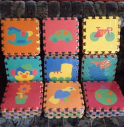 New Rugs puzzles for children