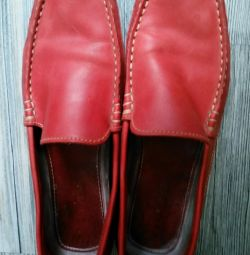 Women's moccasins TBS large size.