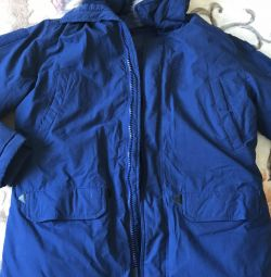 Jacket for men new winter (Alaska, park)