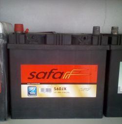 Baterie SAFA 60AH 510A Asia nou
