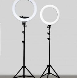 40 cm annular lamp with tripod 2 meters new